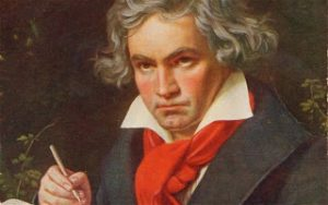 Famous Deaf people - Beethoven