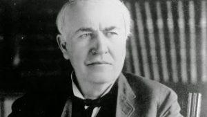 Famous Deaf people Edison