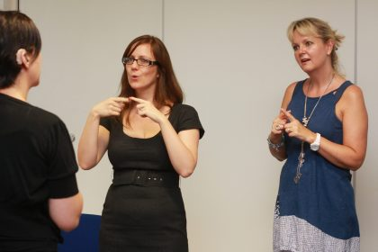 BSL English Interpreting - remove lady on the right with blue tshirt (1)